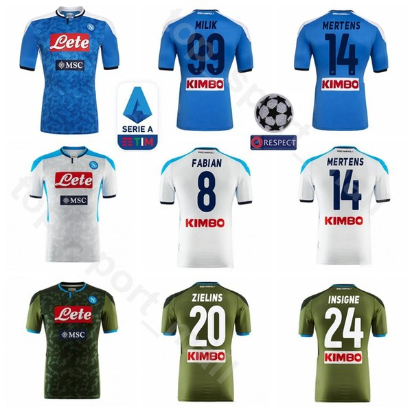SSC Neapel 19 20 Trikots Veröffentlicht Nur Fussball