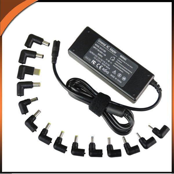 best selling 15V 16V 18.5V 19V 19.5V 20V 90W 14 Tips Universal Laptop Power Adapter charger for ASUS ACER Toshiba HP DELL LENOVO SONY SAMSUNG