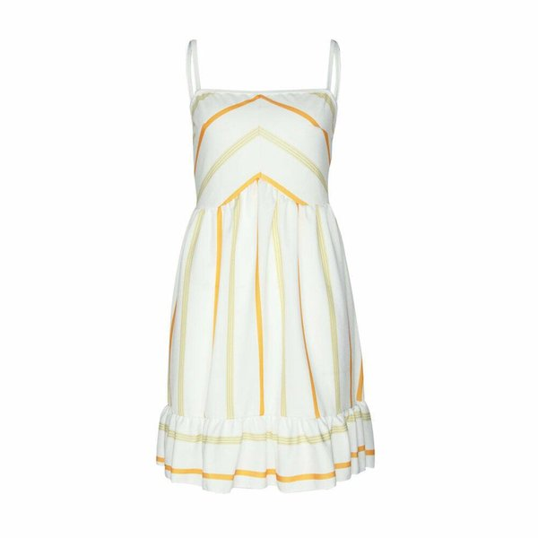2019 Summer sells fast pass hot sell dress sexy appeal condole belt characteristic stripe closes waist d