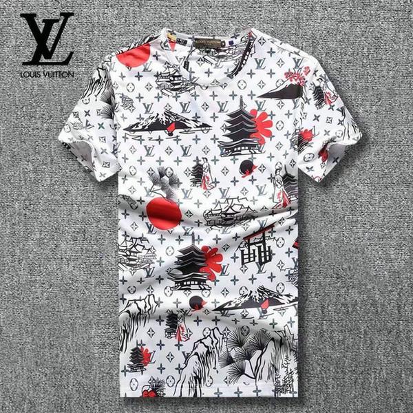 19SS ol Man jogging suitmen luxury diamond design Tshirt fashion t-shirts men funny t shirts brand cotton tops and tees.