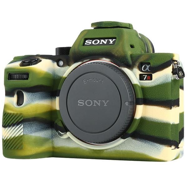 Camera Case per Sony Alpha A7 III A7 RIII A7 SIII Sony ILCE-7RIII A73 A7R3 A7S3 morbida gomma di silicone Camera di protezione Corpo Corpo Pelle