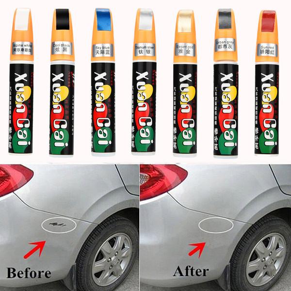 Profesyonel Araba Oto Coat Scratch Temizle Onarım Boya Kalemi Rötuş Su Geçirmez Remover Aplikatör Pratik Aracı # L
