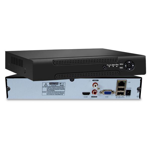 Détection de mouvement H.265 CCTV NVR pour système de surveillance NVR avec enregistreur vidéo en réseau Full HD avec caméra IP