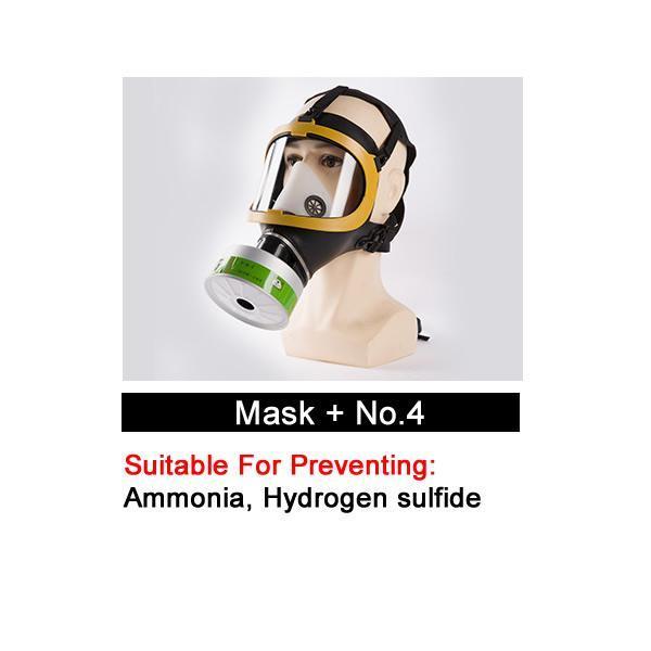 Masque avec No.4