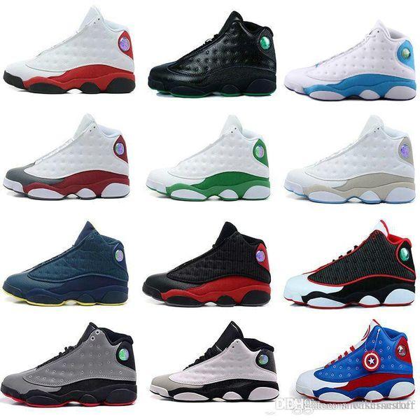 44e7d7da9d1 (with box)2019 13 13s Black Cat 3M Reflect Men Women Basketball Shoes 13s.  66%