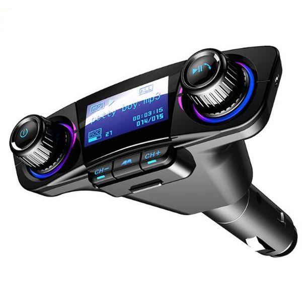 2.1A 2 USB Chargeur De Voiture Universel USB Chargeur Adaptateur De Voiture MP3 Bluetooth Mains Libres pour iphone X XR XS Galaxy Galaxy Huawei ipad Car Audio CD016