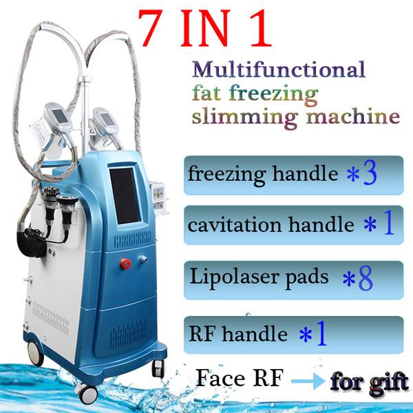 Криолиполиз Жировое оборудование для похудения Вакуум для похудения РЧ машины для домашнего использования РЧ Кавитация Радиочастотные домашние устройства