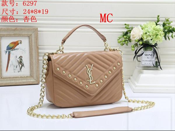 2019 Design Handbag Ladies Brand Totes Clutch Bag Borse a spalla classiche di alta qualità Borse a mano in pelle C00320