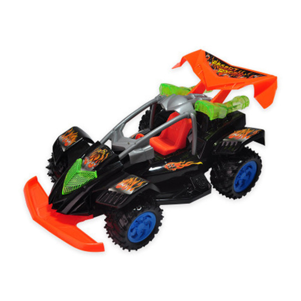 1:14 Damping Four-Wheel Drive Wireless RC Car Racing Climbing Indoor Kids Gift Battery Powered Off-road Vehicle With Light Toys