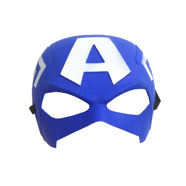 Retail 40g children's COS plays VforVendetta Iron Man Spider-Man Captain America Mask Dance Party Children's Day Christmas Animation