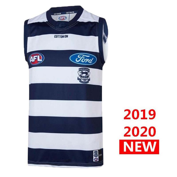 best selling NEW 2019 2020 Jilang Cat HOME Rugby Jerseys AFL Jilang Cat jersey singlet League shirt vest s-3xl