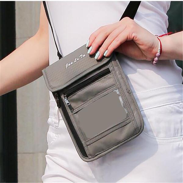 1 pc Nouveau Style Multi-fonction Cross Body Bag Voyage Sac D'épaule De Protection Case Wallet Pouch Pour Hommes Et Femmes Mini