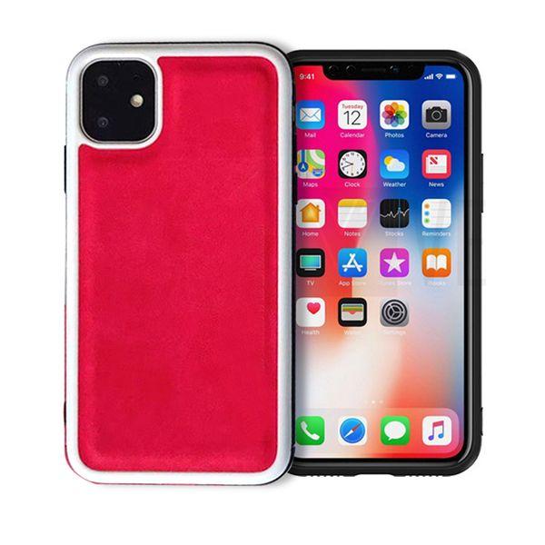 Per iPhone 11 Pro Max, la custodia protettiva in silicone anti-caduta in silicone è adatta per iPhone 11