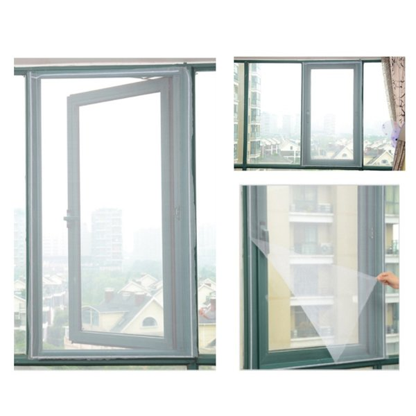 2019 3Pcs indoor mosquito net curtains flying mosquito window net screen window protective film flying screen embedded