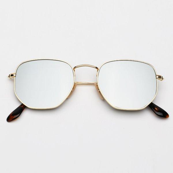 001/30 espelho de ouro e prata