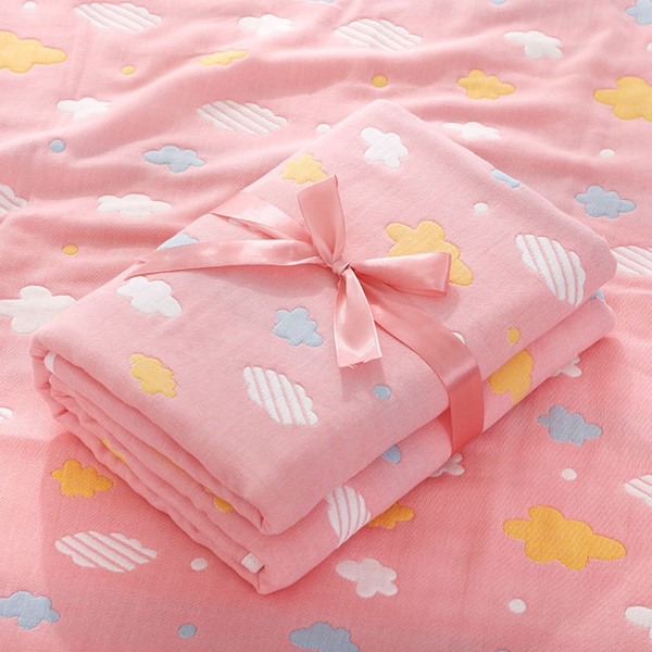 cloud pink square towel-110x110