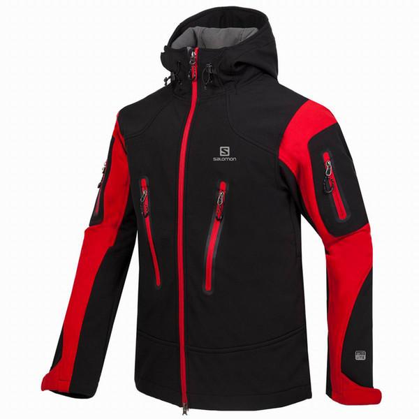 2018 New Men Coat Mens Sports Windproof Windbreaker Jacket Warm Coat Winter