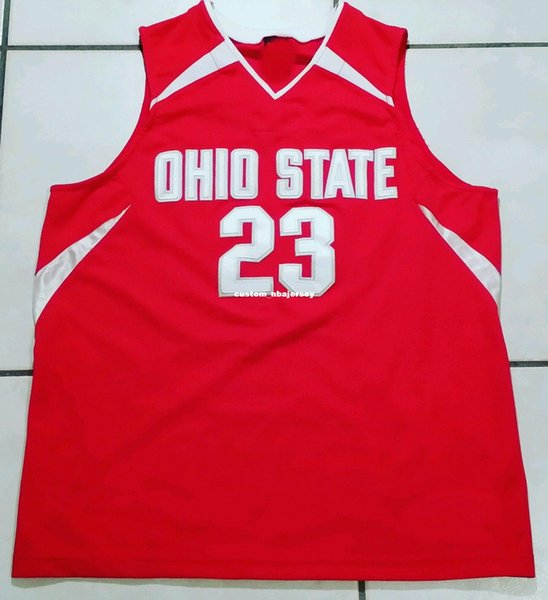 Cheap custom Rare Ohio State Buckeyes NCAA STITCHED Basketball Jersey #23 Customize any number name MEN WOMEN YOUTH XS-5XL