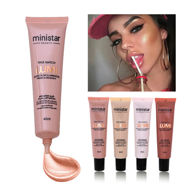 top popular MINISTAR Brand Face Smooth Base Primer Natural Foundation Brighten Concealer Makeup Bronzer Face Primer Cosmetics 2020