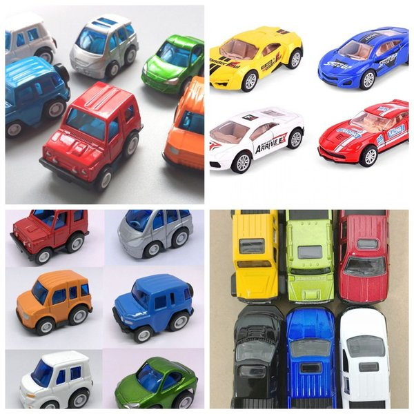 Die Cast Model Cars Mini Sports Car Truck Toys Inertia Simulated Cool Kids Toy Exquisite Boys 2 65bt O1