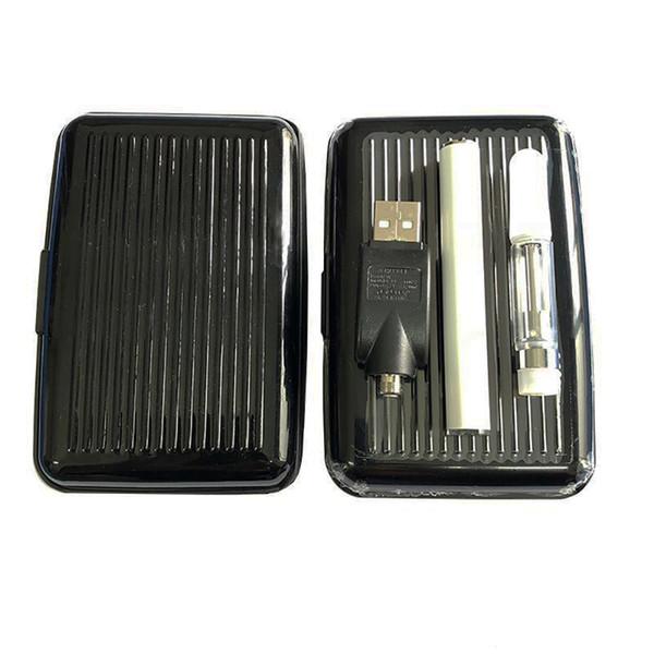 TH210 Керамический сердечник жидкостью Vape атомайзер ecig стартовые комплекты Vape ручка батареи 350mah батареи У. уиклессом густое масло 510 картридж с зарядным устройством