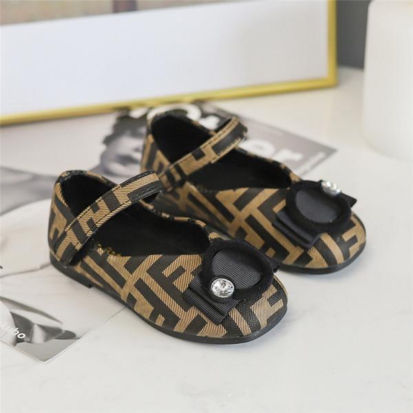 2019 bahar yeni çocuk prenses ayakkabı marka bebek kız düz ayakkabı moda rahat sonbahar çocuk yürümeye başlayan çocuk ayakkab ...