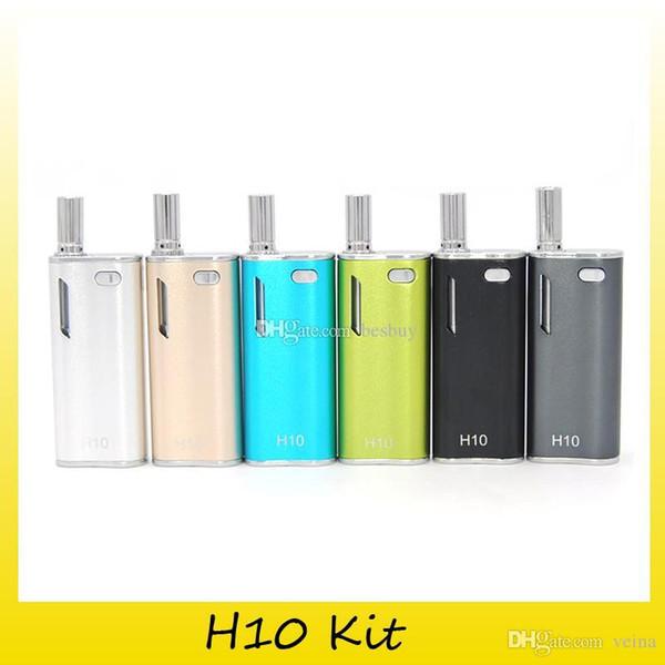 Аутентичные Hibron H10 Starter Kit с 0.8 мл H10 Распылитель 650 мАч Предварительный нагрев Box Мод Бесплатная доставка DHL 0209641