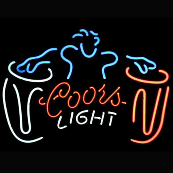 Electronics Products Custom Guinness Draught Glass Neon Sign light Beer Bar Signs COORS Light Drum Sweet Light Neon Sign