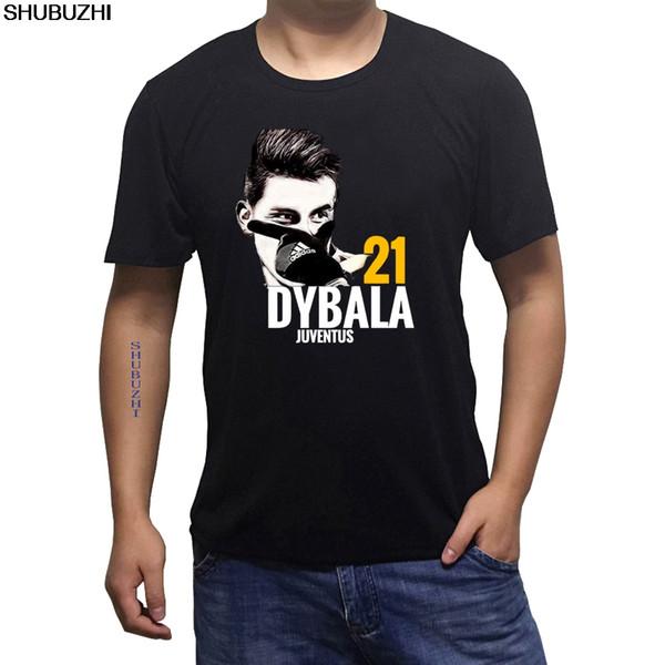 Venta caliente moda verano estilo o-cuello hombres camiseta argentina Paulo Dybala camiseta algodón fresco casual camiseta grande tamaño sbz237
