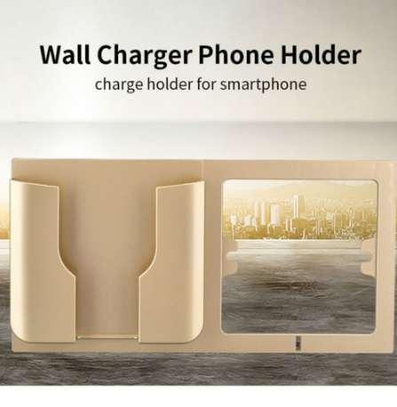 Multifunktionales an der Wand befestigtes Handy-Ladehalter Smartphone-Handy-Ladehalter-Halter stabiler fester Berg