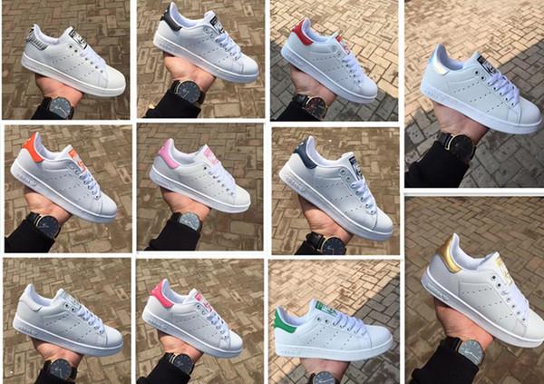 2019 Высочайшее качество женщины мужчины новые туфли модные кроссовки повседневная кожа спортивные кроссовки обувь быстрая доставка