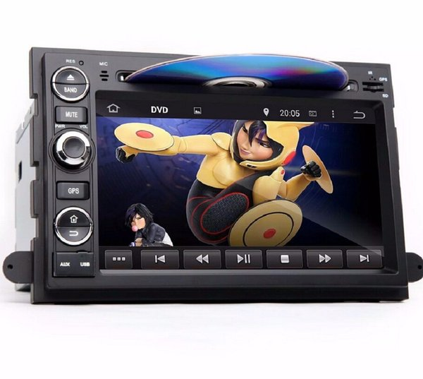 """Android 8.0 Octa Core 2 din 7"""" Car DVD GPS for Ford Fusion Explorer F150 Edge Expedition 2006-2009 4GB RAM Radio Bluetooth USB WIFI"""