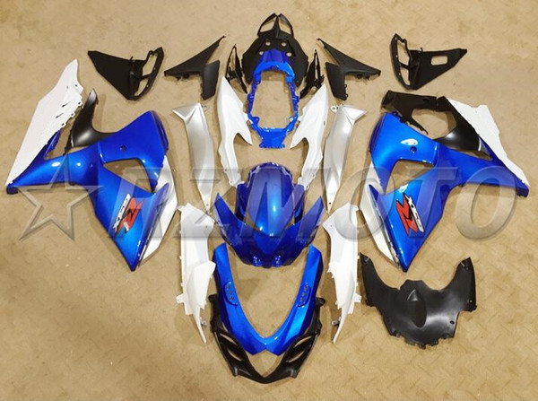 New ABS Injection Mold motorcycle fairings kit Fit for Suzuki GSXR1000 K9 2009-2016 09 10 11 16 GSX-R1000 L2 fairing kits custom white blue