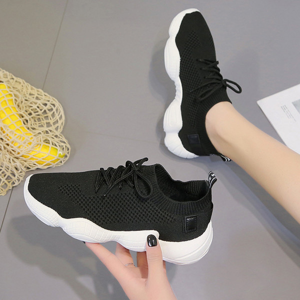 Wih Express Sells Cross-border Explosive Large Size Women's Shoes, One Substitute for Foreign Trade Single Shoes, Net Red Student's Net Spor