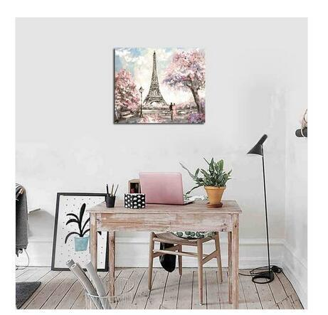 2019 hot Sales!!! Wholesales Free shipping 1 PC Frame Modern Style Tower Scenery Living Room Hotel Decoration Painting
