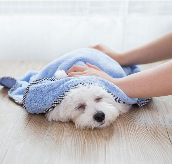 Fashion Pet Dog Cat Bath Towel Teddy Small Dog Bathrobe blanket Dual-use Pet Supplies Puppy Bathrobe Mom Various Dog Clothes Shirt
