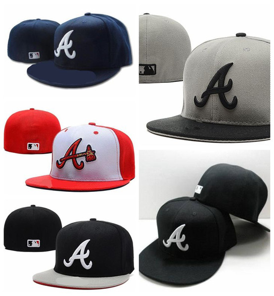 Wholesale-Hot Sale cheap Atlanta hats Braves Collection snapback hat Embroidery cap high quality Fitted caps Free shipping