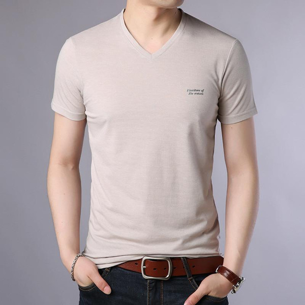 Men's short-sleeved t-shirt round neck 2019 new summer