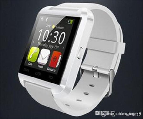 Smartwatch U8 U Watch Smart Watch Wrist Watches for iPhone 4 4S 5 5S Samsung S4 S5 Note 2 Note 3 HTC Android Phone 7 plus