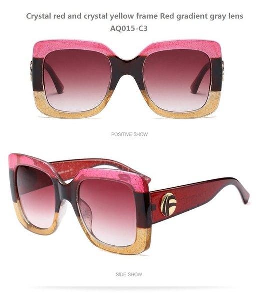 Couleur de lentilles: AQ015-C3