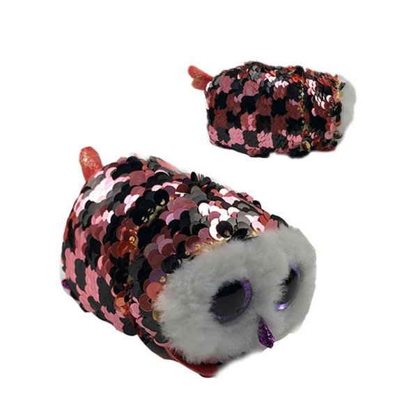"""Ty teeny hush 4 """"10cm fluffy the sequins cats plush stuffed animal collection soft big eyes doll toy"""