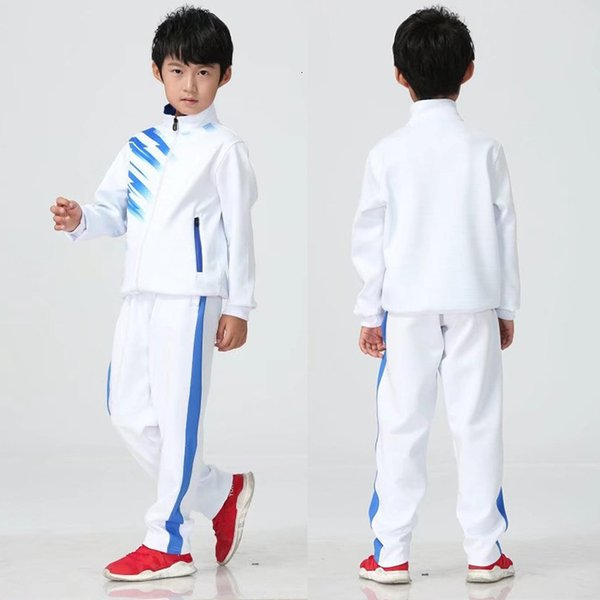 Children's white with white pants