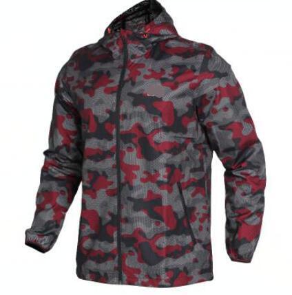 Moda-Outono Novos Esportes Ao Ar Livre Roupas de Proteção Solar Casaco de Camuflagem Jaqueta Casual Impresso Casaco