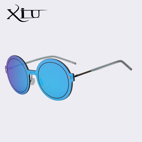 Color de lentes: Azul y azul espejo