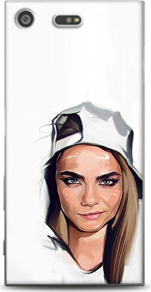 For sony xperia xz dynamics cara delevingne pattern cases premium case ship from turkey HB-000848768