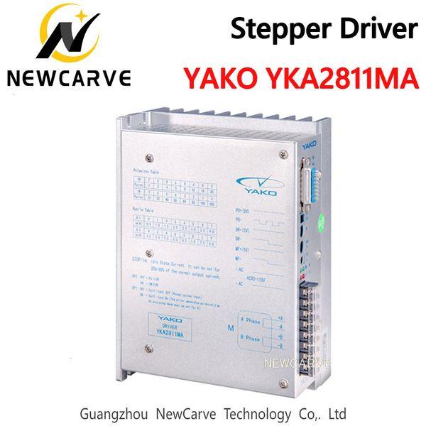 top popular Original YAKO YKA2811MA Stepper Driver Engine 60 -110VAC 8A For CNC Router NEWCARVE 2021