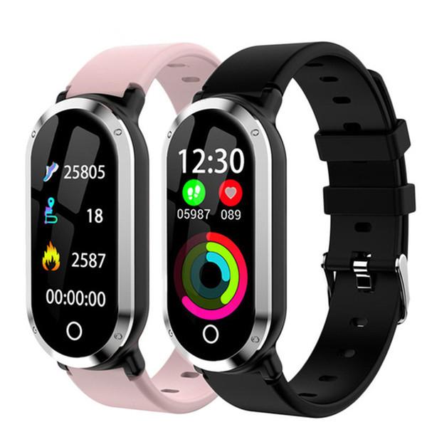 T1 Smart Wristband Woman Fitness Bracelet Heart Rate Blood Pressure Monitor Fitness Tracker Watch Pedometer Sport Smart Band