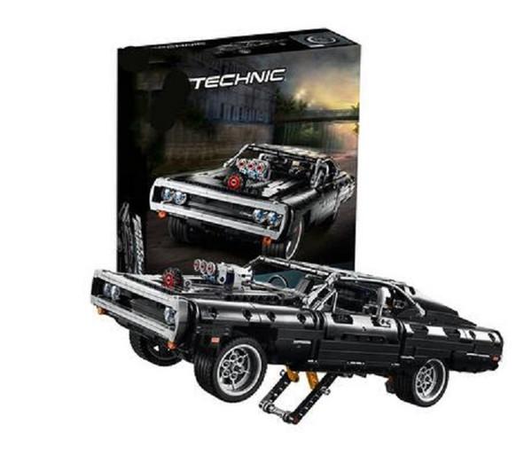top popular 2020 New En stock Compatible 42111 Technic Dodged cargador Building Blocks Creator Expert Bricks Set niños modelos juguetes regalos 2020