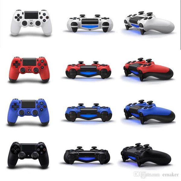2019 Bluetooth Wireless PS4 Controller for PS4 Vibration Joystick Gamepad PS4 Game Controller for Sony Play Station Without Packaging