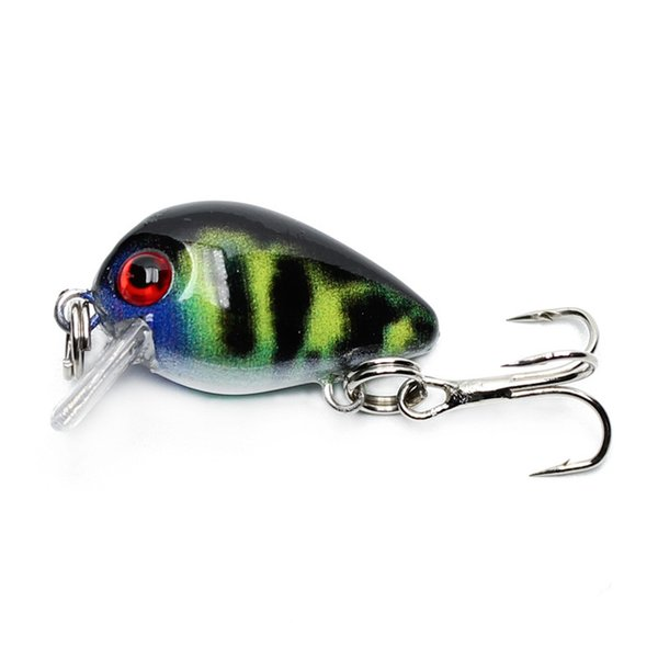 30mm 2g Crazy Wobblers Mini Topwater Crankbait Artificial Japan Hard Bait Pesca Floating Fishing Lures Bass Pesca Ww338